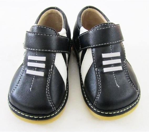 Hecho a mano Del Bebé de la Zapatilla Suela Squeaky Zapatos Primavera Otoño Antideslizante Zapatos Del Niño Del Envío Libre