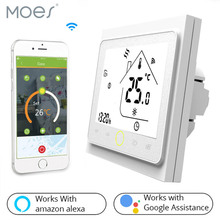 Works with Alexa Echo Google Home Tuya  Smart WiFi Thermostat Temperature Controller Water and Gas Boiler