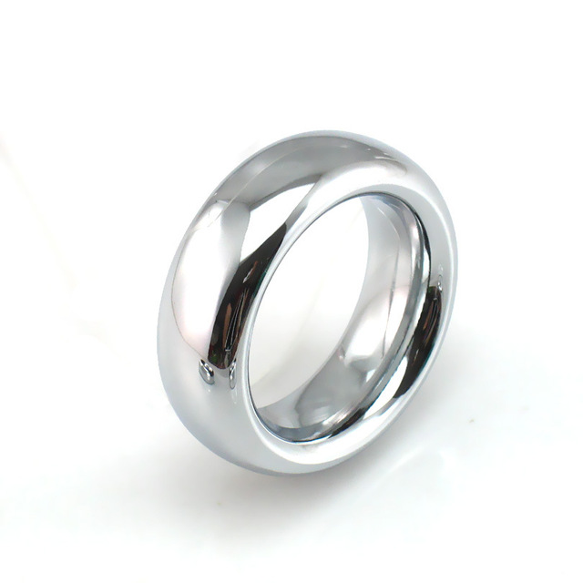 40/45/50mm stainless steel cock ring delay spray cockring metal scrotum penis rings sex toys for men penisring cockrings