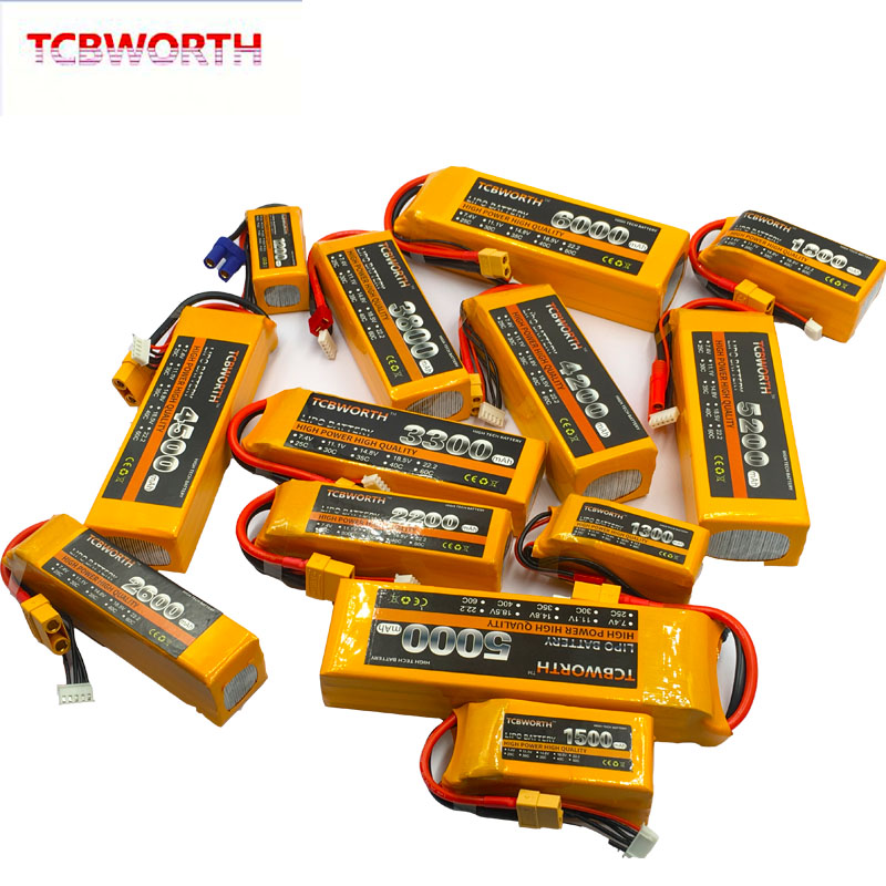 Image 5 - New Nano 4S RC LiPo Battery 14.8V 1100 1300 1500 1800 2200 2800 3300mAh 25C 35C 60C For RC Aircraft Quadrotor Car Drone Airplane-in Parts & Accessories from Toys & Hobbies
