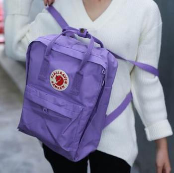 2018 Новый Kanken студентов женские сумки Дорожная сумка рюкзак