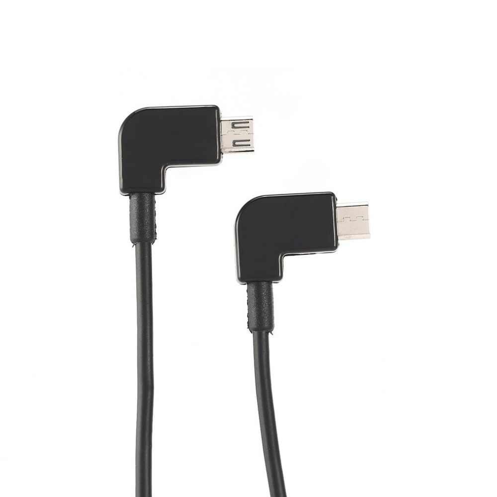 Cable de datos para DJI Spark/MAVIC Pro/Control de aire Micro USB a la iluminación/Tipo C/Micro línea de adaptadores USB para iPhone para Pad para Xiaomi