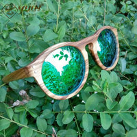 Hot Sale Polarized Wood Sunglasses 100 Handmade Wooden Sun Glasses With Fine Workmanship Sunglasses Eyewear