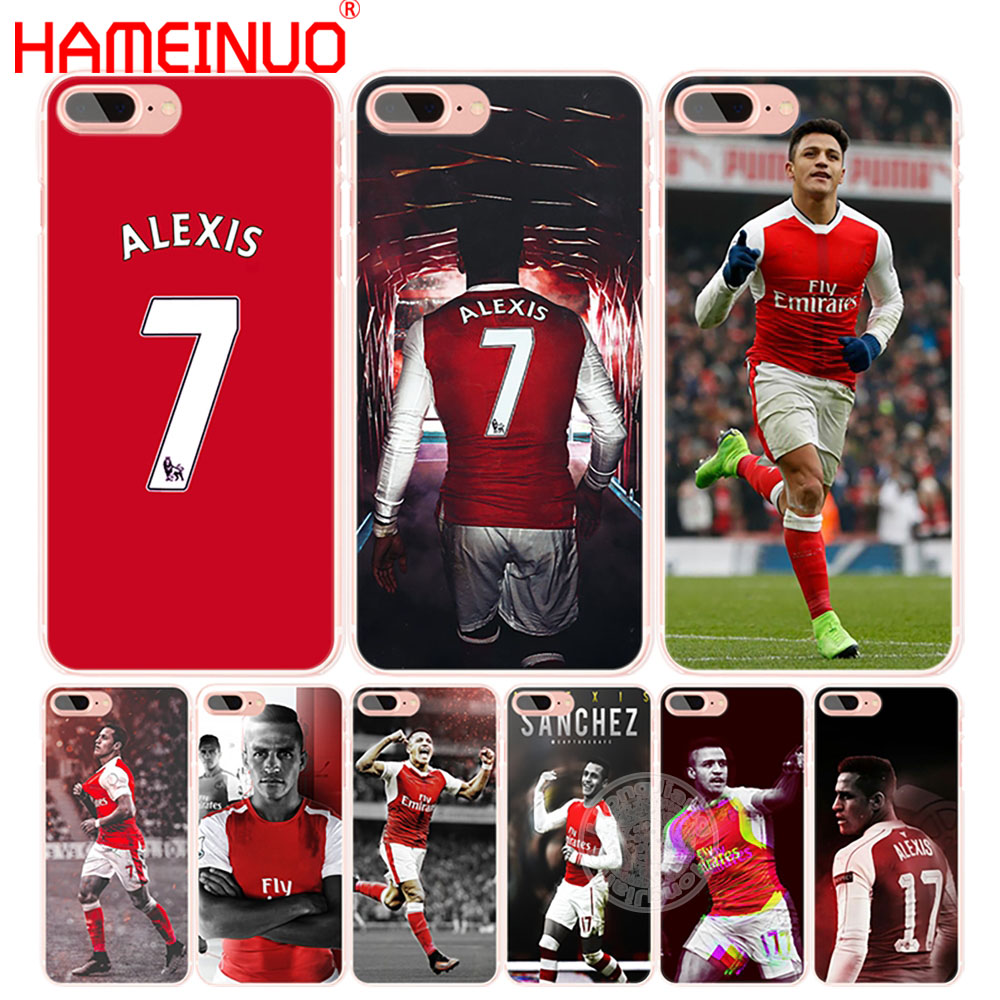 HAMEINUO alexis sanchez 7 soccer star cell phone Cover case for iphone 6 4 4s 5 5s SE 5c 6 6s 7 8 X plus