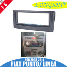 цена на 1 DIN Car Facia for Fiat Punto 2005-2014,Linea 2007-2011 Radio DVD Stereo CD Panel Dash Kit Trim Fascia Face Plate Frame 1din