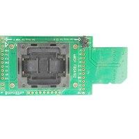 EMCP162 186 SD banc d'essai Prise Programmeur BGA162 montage D'ESSAI SD carte lignes de Données