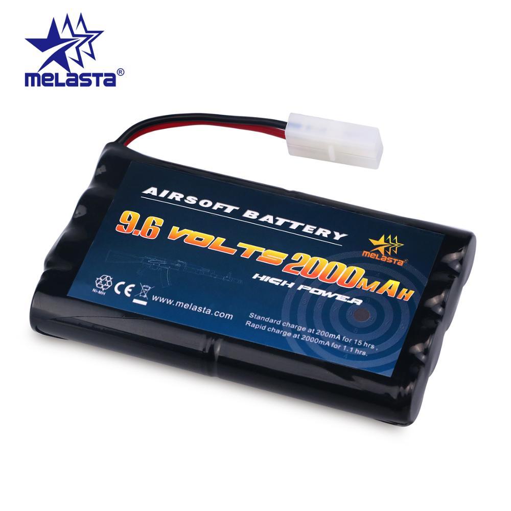 Melasta 8S AA 9.6v 2000mAh NiMH Battery Pack With Tamiya Connector For RC Cars Boats RC Gadgets Airsoft Guns