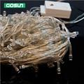30 M 300LED Fada Do Natal Luzes Cordas 8 modos À Prova D' Água Led Férias Luz Cordas com masculino/feminino ligação 220 V
