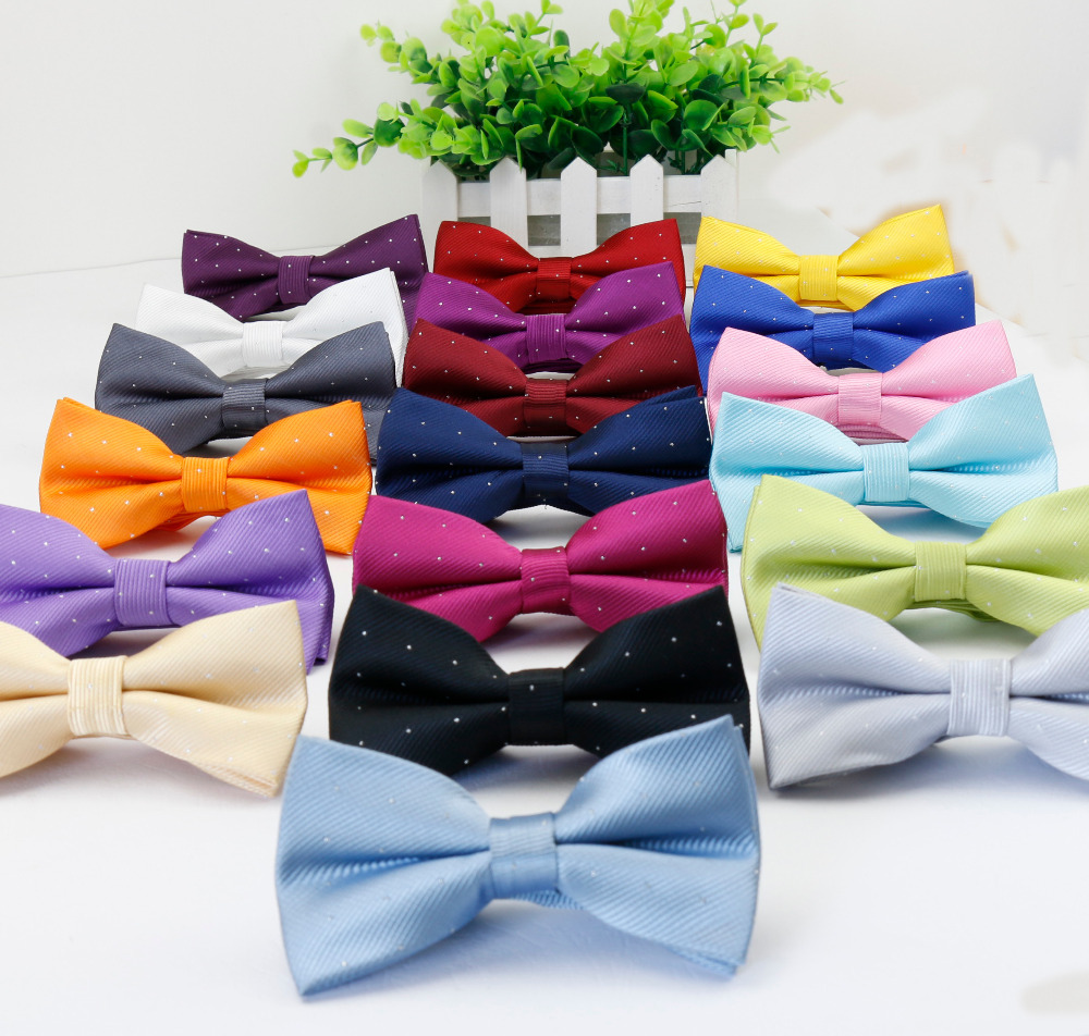 Plaid Bowties Groom Mens Solid Fashion Star Silver Point Cravat For Men Butterfly Gravata Male Marriage Wedding Bow Ties