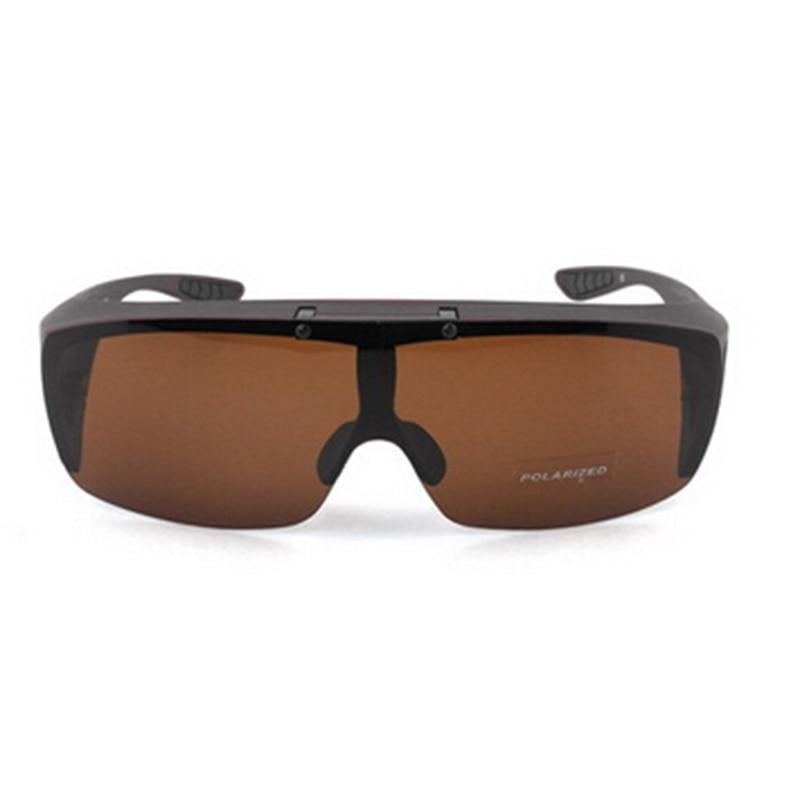 97a76780d Stgrt Filp Up Polarized Fashion Plastic Frame Fit Over Men Sunglasses With  Lens Folding Wear On Regular Prescription Glasses