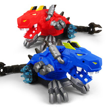 Brand New Electric Simulation Dinosaur Sound Light Music Spray Cartoon Kids Toys Logoingly Friends Fun Game Boy