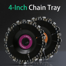 4 Inch Carbide Wood Carving Disk Grinder Disc Chain Woodworking Saw Blade Cutting Blade Wood Slotted Saw Blade Angle Grinder 115 125mm grinder curved work cutting tools carbide grinder disc angle grinder chain saw disc blade wood carving disc for angle