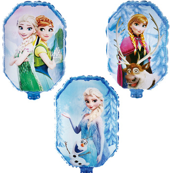Princess Balloons 50pcs Elsa Anna Helium Globos Happy Birthday Party Decorations Kids Toys Wedding Supplies Girl Gifts Wholesale