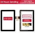 ОРИГИНАЛ ИСПЫТАНИЯ 10.1 дюймов Сенсорный Экран Для Huawei MediaPad 10 Link S10-231L S10-231 Сенсорный Экран Стеклянная Панель Клей