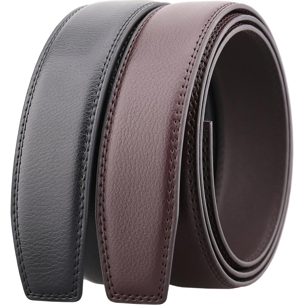 SHU QI Mens automatic buckle high-grade suede leather belt belt leather