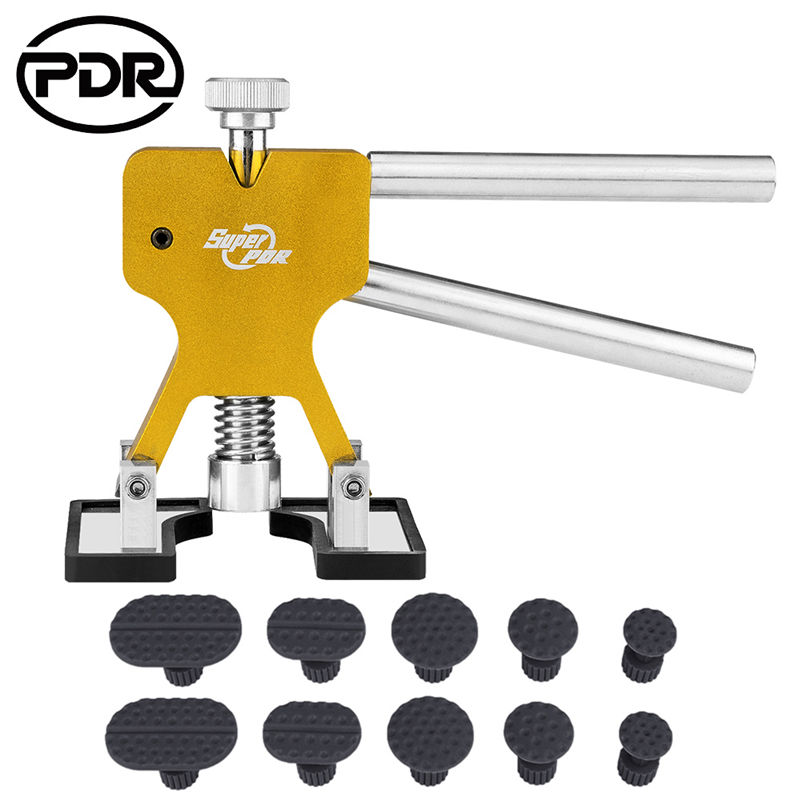 PDR Tools Dent Removal Auto Paintless Dent Repair Tool Remover Dent Lifter kit Suction Cup Hand Tool for Remove Car Dent Hail