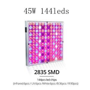 Image 2 - Yabstrip LED büyümek lambalar 25W 45W 50W tam spektrum büyüme ışığı 2835 çip için kapalı çiçek sera fitolamp bitki Phyto lamba