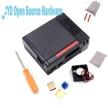 Discount! 1set Black Mini NES NESPI  CASE Retroflag Case with Cooling Fan Designed for Raspberry Pi 3 / 2 / B+