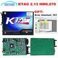 2017 Novo Scanner de Hardware V6.070 V2.13 KTAG Programação ECU Mestre Versão Sem Tokens Limitada K TAG 100% J-Tag K-TAG compatível