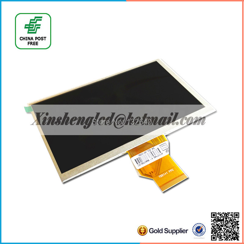 NEW 7inch TFT AT070TN90 lcd screen AT070TN90 V.1 800*480 resolution thickness 3mm for Car DVD lcd screen free shipping new m200rw01v 3 lcd screen resolution 1600 x900 m200rw01v3