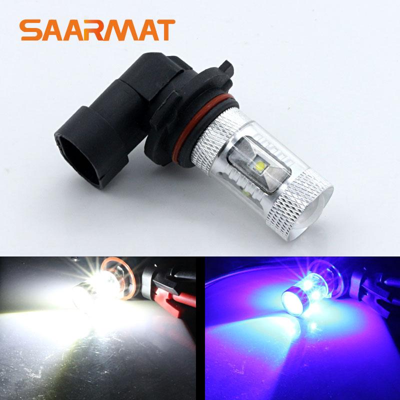 2 шт. HB4 9006 30 Вт w/Cree фишки Car Внешний LED лампа туман Лампочки для Mazda CX-9 RX-8 b4000 для Hyundai Veracruz