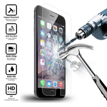 9H 2.5D HD Tempered Glass for i Phone 6 s 5 5s se 7 8 Plus X 5se iPhone6 5c iPone ihone 6s 6Plus Screen Protectors Glass