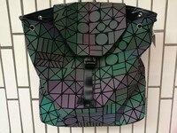 2017 New Bao Bao Women Nano Bag Diamond Lattice Tote Geometry Quilted Backpack Sac Bags Women