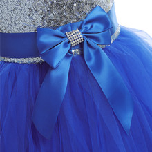 Silver Sequined Pageant Dresses for Girls