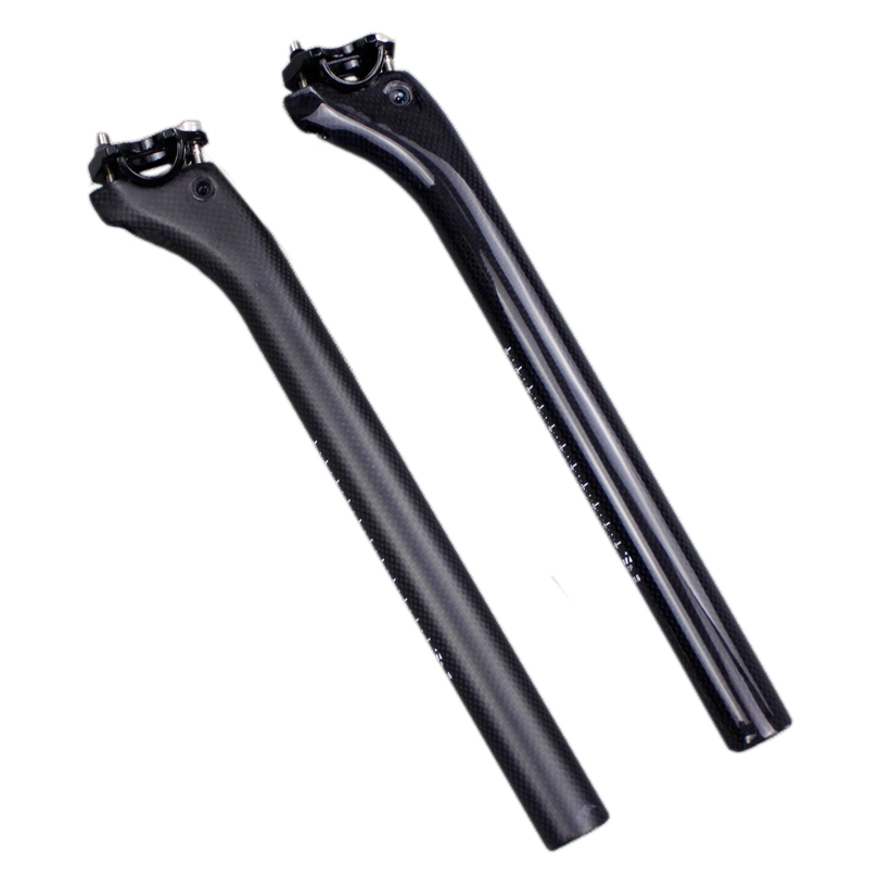 Good PRO XCR Seatpost 31.6 x 400mm Carbon 15mm Setback Black