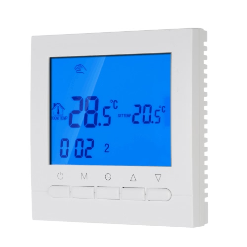 Programmable Thermostat with Wifi function Electric Heating Thermostat Smart WIFI Temperature Controller Energy Saving wifi thermostat controlled by ios smart phone energy saving infrared radiator controller