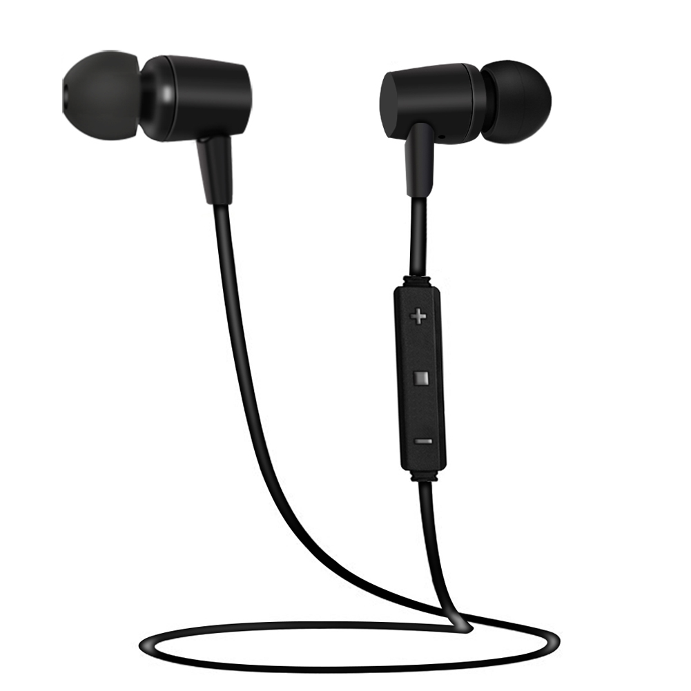 Wireless Earphone Bluetooth Headset with MIC In Ear Sport Headphones Deep Bass Sound Music Earbuds for xiaomi Sumsung iPhone PC remax 2 in1 mini bluetooth 4 0 headphones usb car charger dock wireless car headset bluetooth earphone for iphone 7 6s android