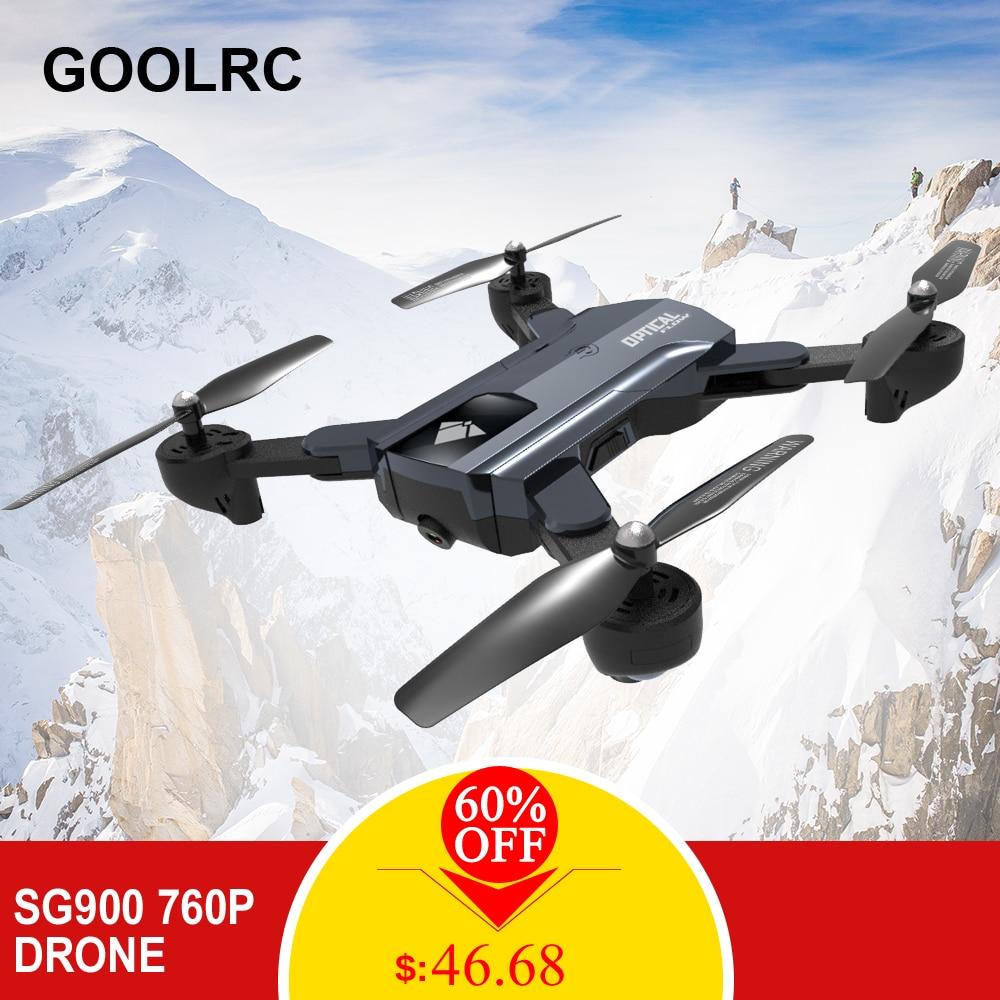 SG900 RC Drone avec Caméra 720 p Wifi FPV RC Quadcopter Flux Optique Geste Tir Suivre Me Voler 22 minutes maintien d'altitude E58 F196 X12