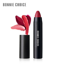 BONNIE CHOICE 1 Pc Matte Lip Crayon Cosmetic Velvet Lipstick Pen 10 Colors Long-