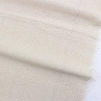 16628 1F 50 Cm 150 Cm Solid Color Cotton Linen Fabric DIY Handmade Patchwork Fabric Textile