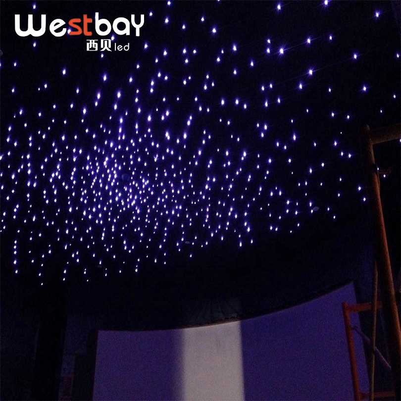 Westbay PMMA Plastic Fiber Optic 200pcs 0.75mm*2m Optic Fiber Light High Quality Optical Fiber Cable For Ceiling Star Starry Sky