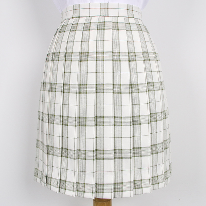 2019 Summer Hot Japanese Korean Version Short Skirts Jk Academy School Girl Pleated Half Skirt School Uniform Cosplay Student
