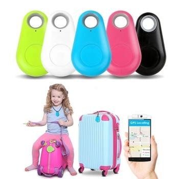 New Modern Mini GPS Tracker Anti-Perso Bluetooth Impermeabile Tracciante Per Cane di Animale Domestico Del Gatto Tasti Del Sacchetto Del Raccoglitore Bambini Tracker attrezzature Finder 1