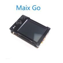 Sipeed maix go k210 ai bolso deluxe completo caracterizado placa de desenvolvimento com escudo a bordo depurador