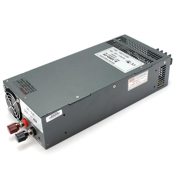 S-1000-24 1000 W 24 V 40A sortie unique AC à DC alimentation à découpage