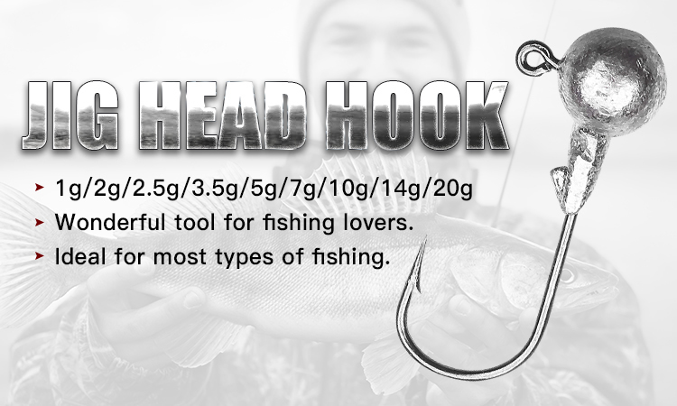 OBSESSION 2019 top quality fishing hook jig head hook for soft lure bass fishing hook