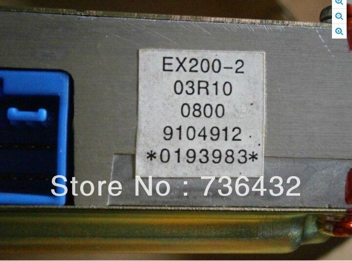 Free shipping Hitachi EX200 2 3 Engine Controller 9104912 Hitachi Excavator Spare Parts Hitachi digger loader