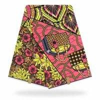2019 latest 100% cotton african fabric wax /holland style real wa Holland wax 6 yards ! J30502