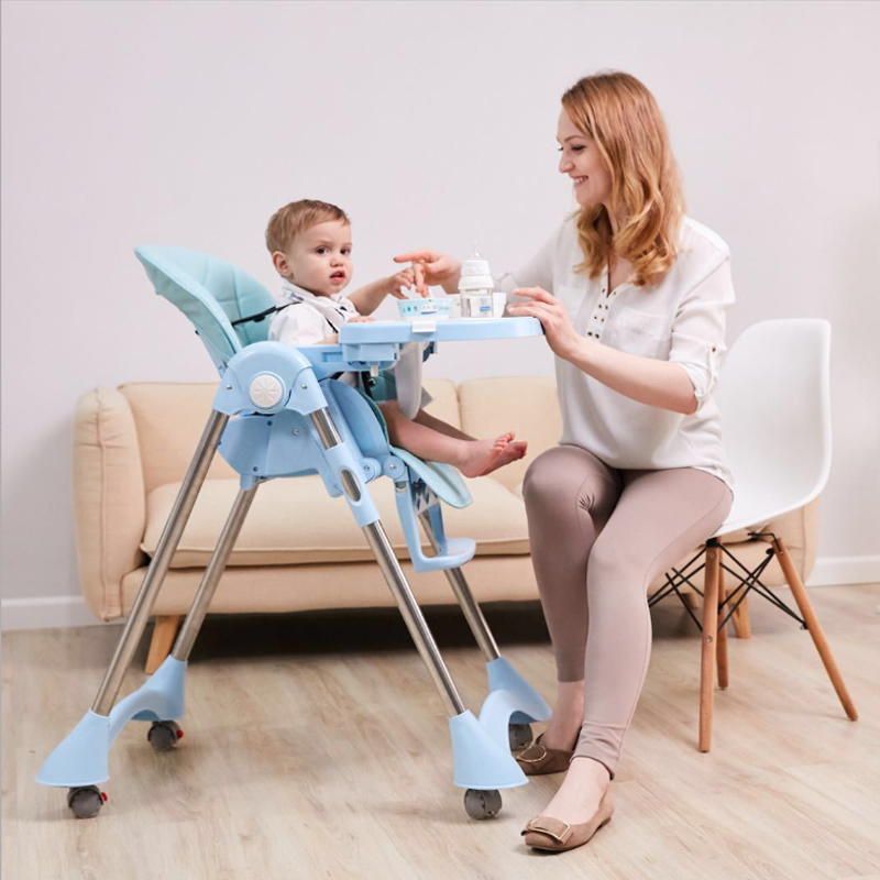 with pulley feeding high chair Dining Chair Children Dining Chair Foldable Multifunctional Portable Baby Highchairs baby seat pouch multifunctional highchairs portable foldable infant seat chair baby to eat