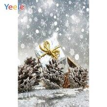 Yeele Christmas Photocall Bokeh Lights Glitter Gift Photography Backdrops Personalized Photographic Backgrounds For Photo Studio yeele christmas photocall bokeh lights glitter pine photography backdrops personalized photographic backgrounds for photo studio