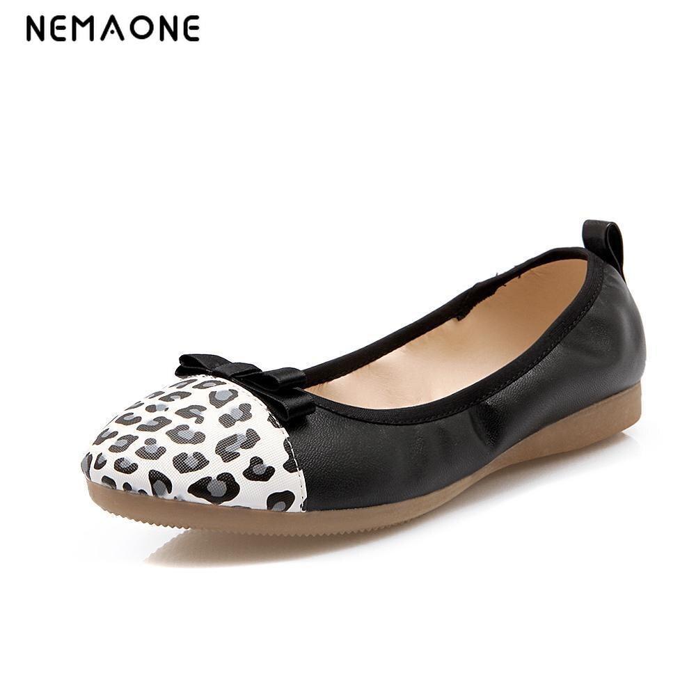 2016 New fashion Women pu Leather Mother Shoes Moccasins Women's Soft Leisure Flats Female Driving Shoe Flat