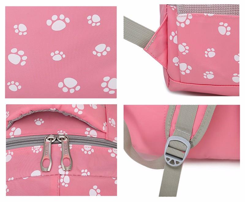 Fashion kids book bag breathable backpacks children school bags women leisure travel shoulder backpack mochila escolar infantil 8