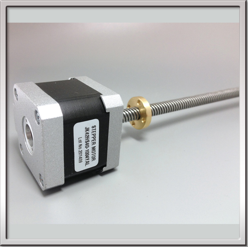 Name17 1A 12V non captive Linear 42mm Stepper Motor Screw Rod Linear Stepping Motor for 3D Printer Desktop straight screw motor