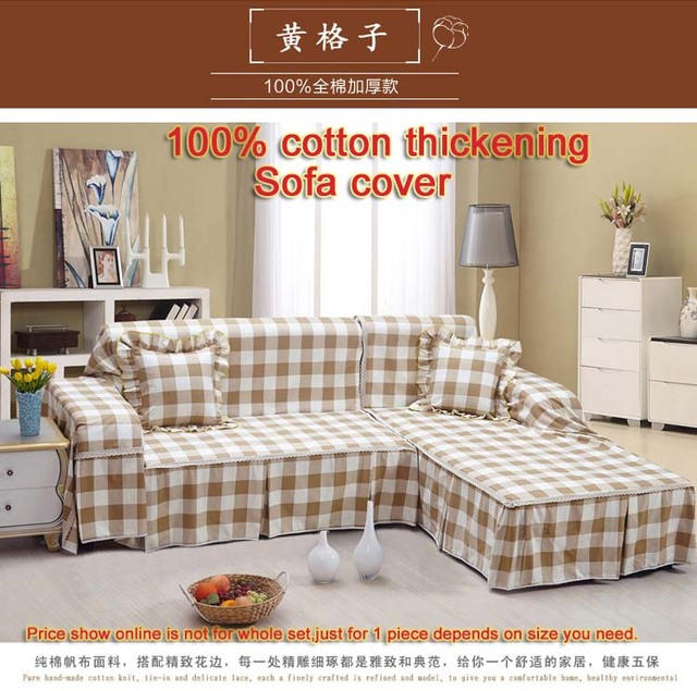 Enjoyable Us 6 99 Fashion 100 Cotton Sofa Cover Thickening Sofa Cover Cloth All Inclusive Sofa Cover In Sofa Cover From Home Garden On Aliexpress Com Pabps2019 Chair Design Images Pabps2019Com
