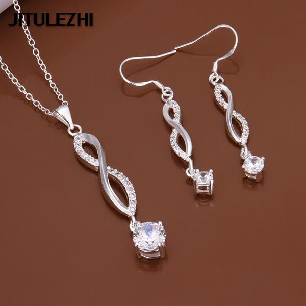 Factory Direct Affordable Wedding Jewelry NEW 925 Sterling Silver Earrings
