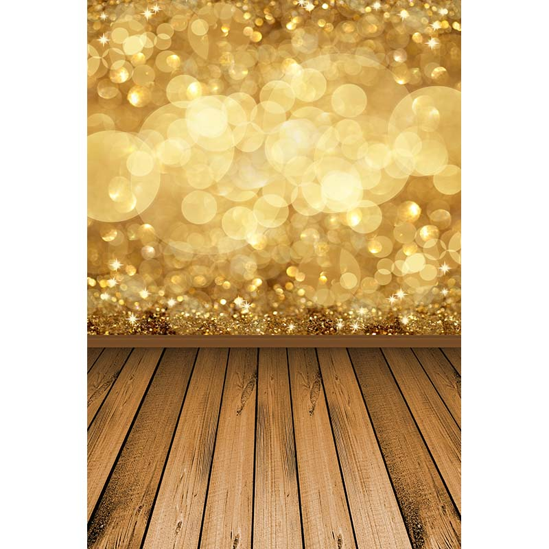MEHOFOTO 5X7FT Polyester Golden Bokeh Photography Backgrounds Christmas Wood Floor Photo backdrop for Photo Studio CM-6333 free shipping nature snow scenic photography photo backdrop vinyl christmas backgrounds for photo studio bg 33